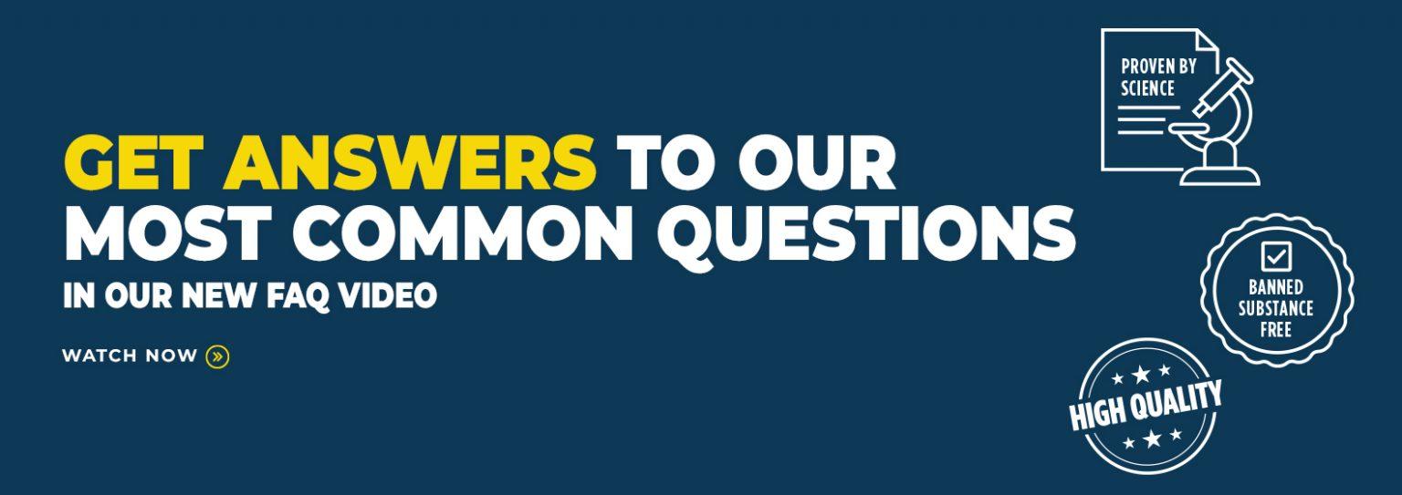 最も一般的な質問への回答を得る